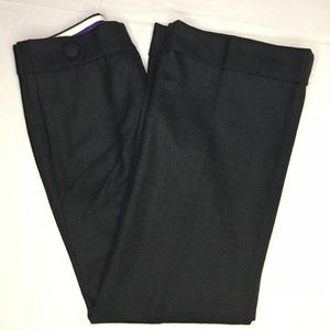 NWOT J. Crew Favorite Fit Gray Wool Twill Pant